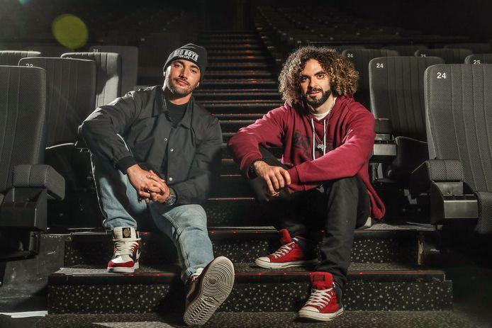 Bilall Falah en Adil El Arbi palmen met het Point of U filmfestival drie dagen hartje Antwerpen in.