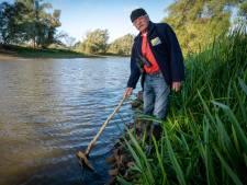 Laag water, dus komt asbest in Gendtse polder weer boven: 'Iedereen wijst naar elkaar'