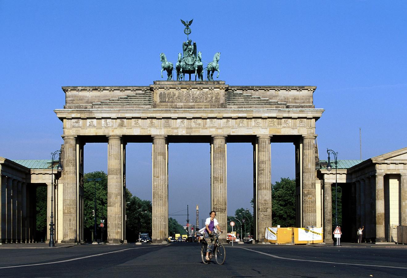 De Brandenburger Tor in hartje Berlijn.