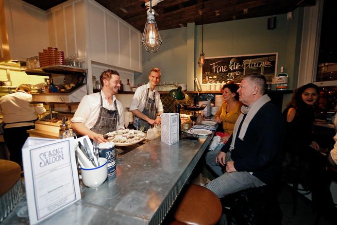 sea salt saloon is 100 procent vis | gouden pollepel utrecht 2017