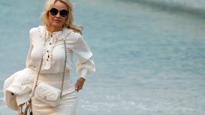 Pamela Anderson stiekem getrouwd met jeugdliefde