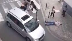 VIDEO. Zwaar geval van verkeersagressie in Brussel