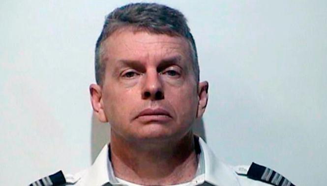 Le pilote Christian Richard Martin a été arrêté juste avant son vol.