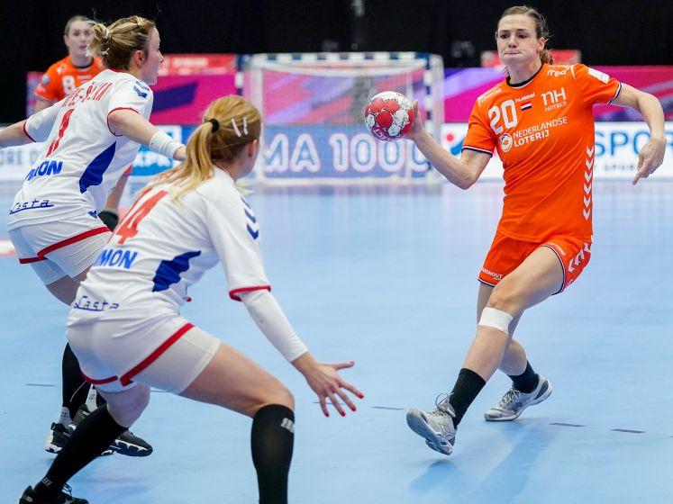 Dramatische EK-start voor handbalsters tegen Servië