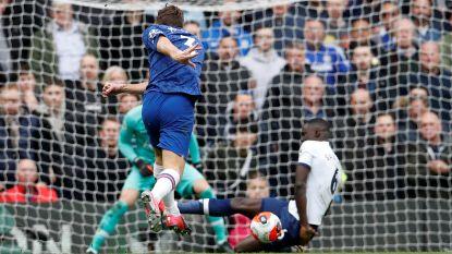 LIVE. Chelsea heeft gewonnen spel, Mourinho haalt Alderweireld naar de kant