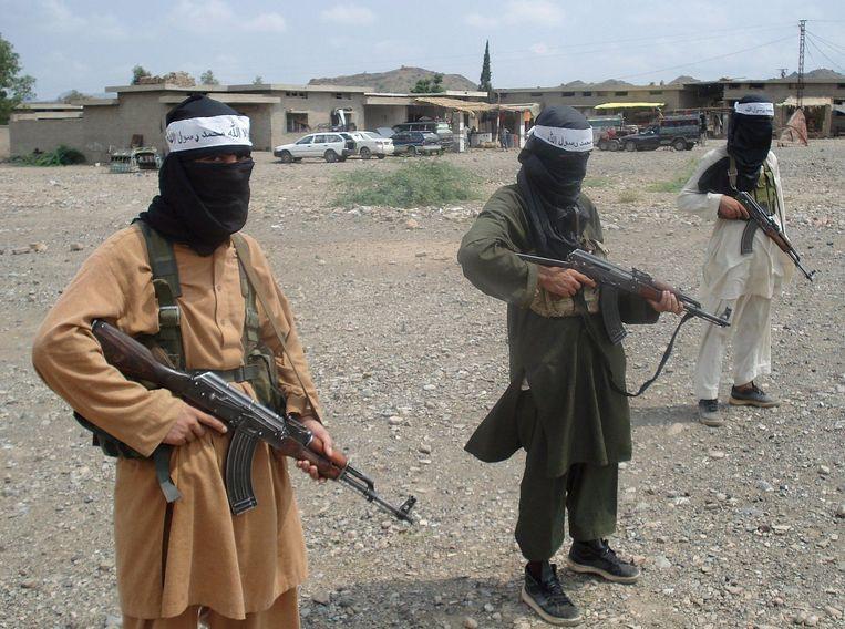 Washington heeft een prijs van vijf miljoen dollar gezet op het hoofd van Mehsud, een lid van de stam met dezelfde naam die is gevestigd in de regio Zuid-Waziristan, waar het centrale gezag machteloos is. Foto EPA Beeld
