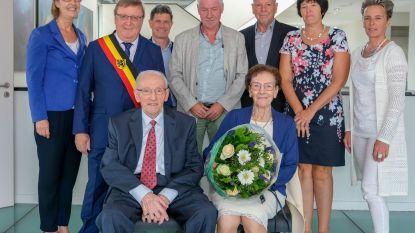 Ferdinand en Ghislena 65 jaar getrouwd