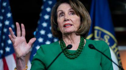 "Trump noemt Nancy Pelosi ""derderangspolitica"""