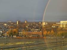Regio smult van bijzondere regenboog en deelt massaal foto's