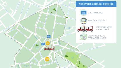 Vanaf 12 uur geen auto's meer in stadscentrum: heel wat te beleven op autovrije zondag
