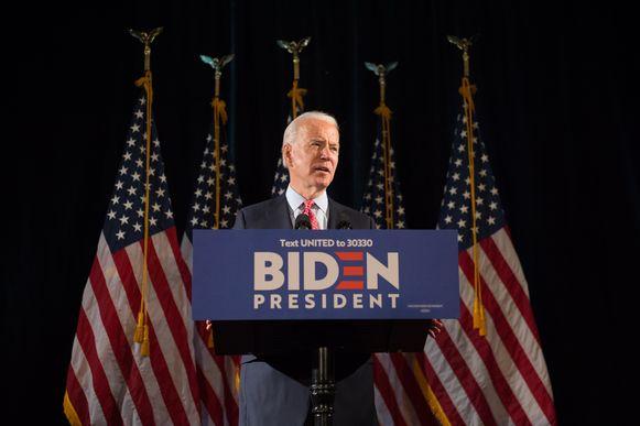 Joe Biden, de voormalige Amerikaanse vicepresident én de presidentskandidaat van de Democratische Partij.