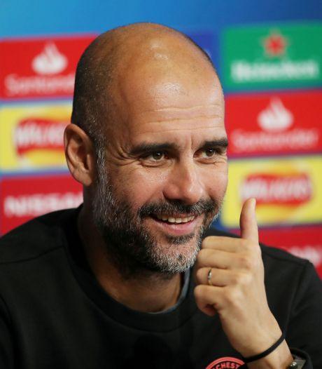 """Guardiola """"incroyablement heureux"""" pour Manchester City qui mérite des """"excuses"""""""