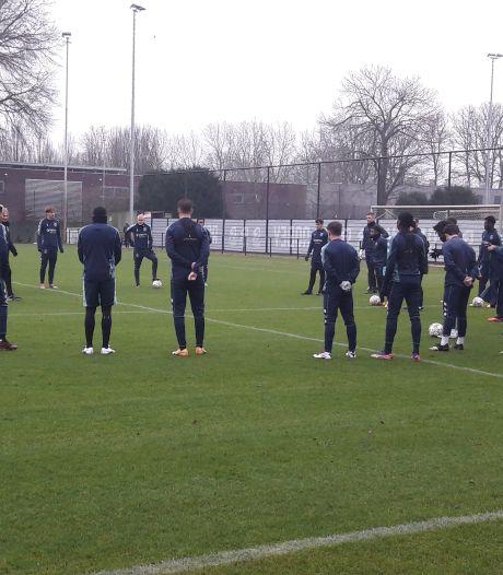 Willem II heeft bij eerste training 2021 weer eens iedereen op het veld