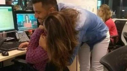Deze optische illusie van twee knuffelende mensen doet Twitter twee keer kijken en sommigen lijken het écht niet te zien