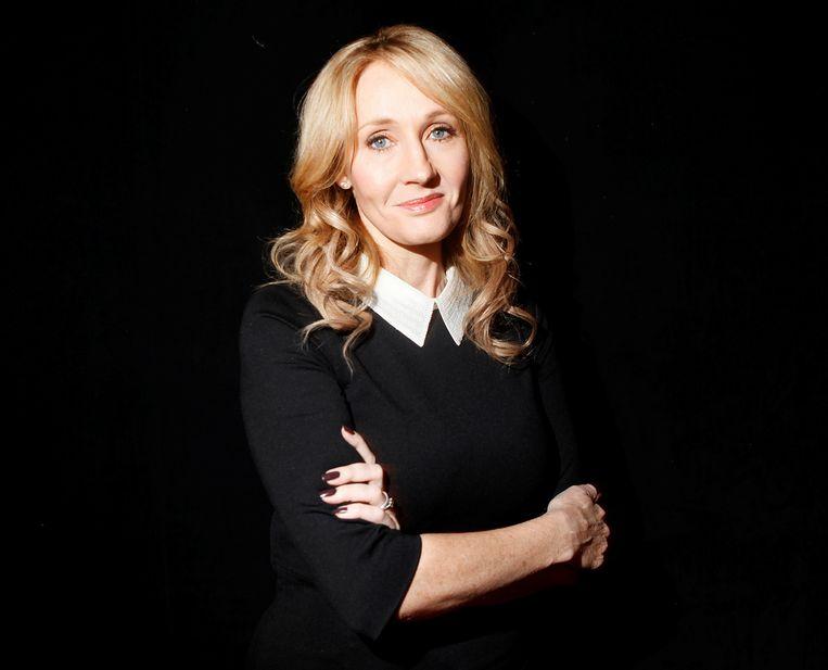 Schrijver J.K Rowling, onder meer bekend van de Harry Potterboeken. Beeld REUTERS