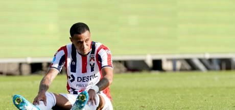 Willem II mist Dankerlui door knieblessure in Almelo, Quiñónez in wedstrijdselectie