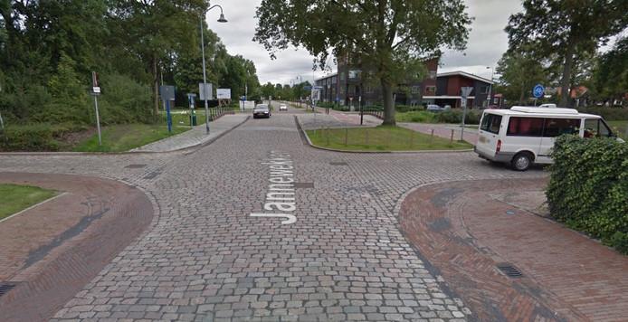 Kruispunt Jannewekken - Touwbaan in Zierikzee.