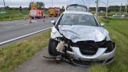 Twee gewonden bij zware klap aan Eurotuin in Ophasselt
