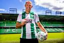Arjen Robben in het shirt van FC Groningen.
