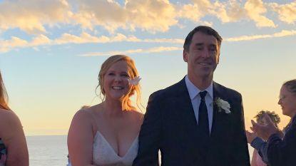 Amy Schumer en Chris Fisher stappen in het huwelijksbootje