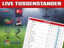 LIVE tussenstanden: De Vrij scoort voor Lazio, Arsenal worstelt tegen Hammers