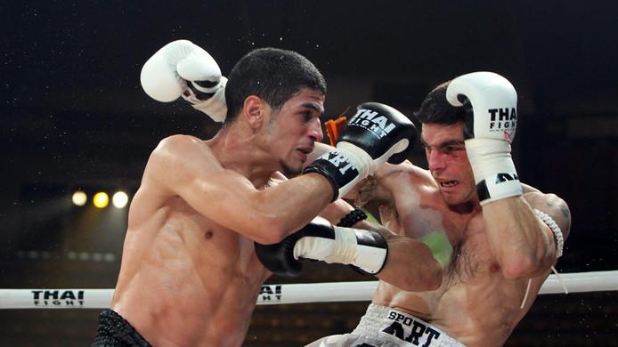 Youssef Boughanem (à gauche).