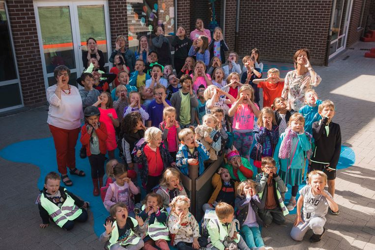 In het totaal dus 20 nieuwe kinderen die basisschool Jeugdland Lauw verwelkomt of 38% meer leerlingen dan bij aanvang van het schooljaar