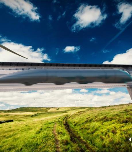 Hamburg gaat met Hyperloop vrachtcontainers Europa inschieten