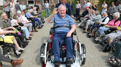Met rolstoelfiets naar het Drongengoed