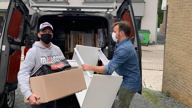 Vrienden zetten grootscheepse hulpactie op na zware brand in Aalst