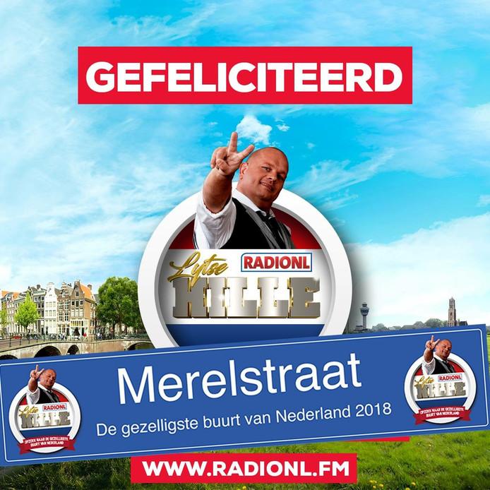 Voor Radionl is de Vogeltjesbuurt 's lands gezelligste.