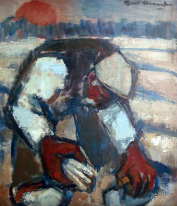 Een werk van Keerbergs Kunstschilder Gust Dierikx