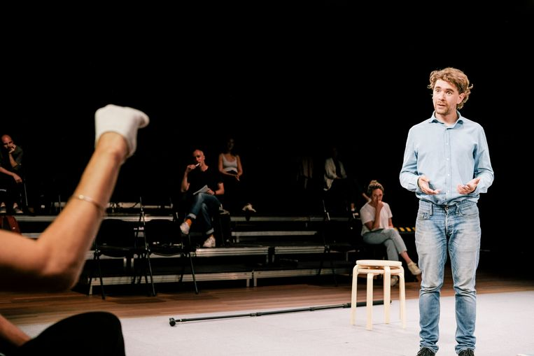 Bram Suijker in Every Brilliant Thing / HNT - 2020 Beeld Koen Veldman