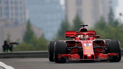 Vettel grijpt in extremis de pole in Shanghai, Vandoorne start als veertiende
