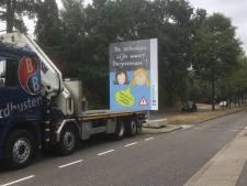 Huissense borden waarschuwen Arnhems verkeer voor schoolstart