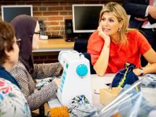 Koningin Máxima bezoekt stichting Vluchtelingenkinderen De Delerij