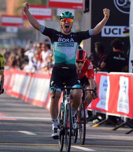 Ackermann klopt Groenewegen en andere topsprinters in openingsrit UAE Tour