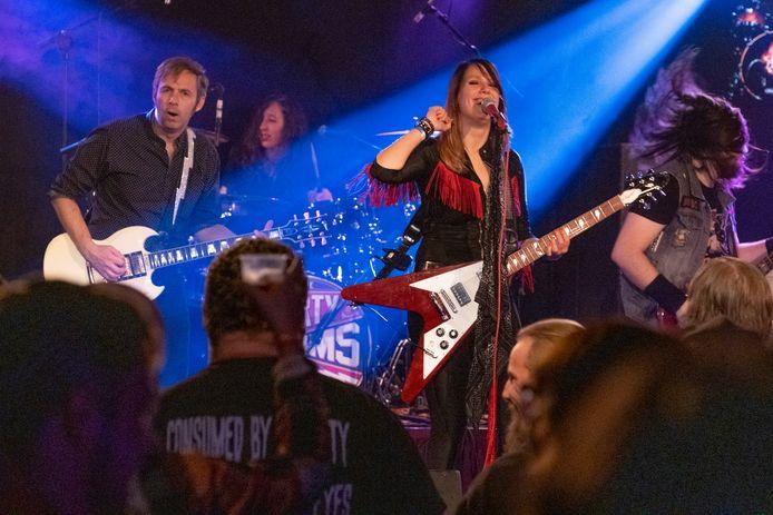 The Dirty Denims tijdens Women in Rock 2019.