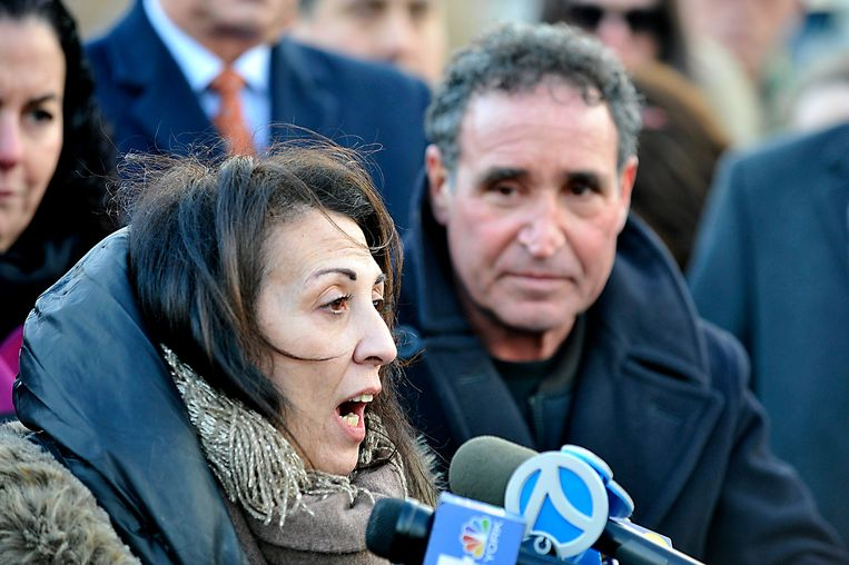 Cathy en Phillip Vetrano, de ouders van de vermoorde Karina.