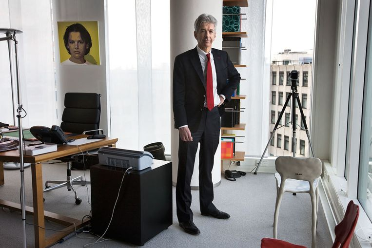 Minister Plasterk (Guus Dubbelman/ de Volkskrant) Beeld