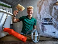 Morris (17) uit Raalte werkt mee aan natuurverf zonder verdacht luchtje: 'Je kunt je huis ook gezond en duurzaam schilderen'