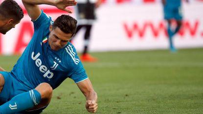 LIVE. Ronaldo op zoek naar eerste competitiegoal, nadat VAR voor rust doelpunt afkeurt