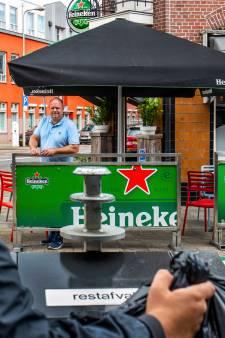 Indringende stank van restafval op Utrechts terras houdt aan, containersoap nog niet voorbij