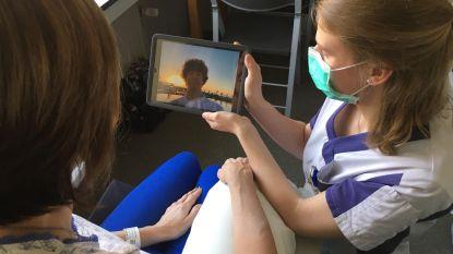 Tablets helpen patiënten in AZ Rivierenland om te praten met thuisfront