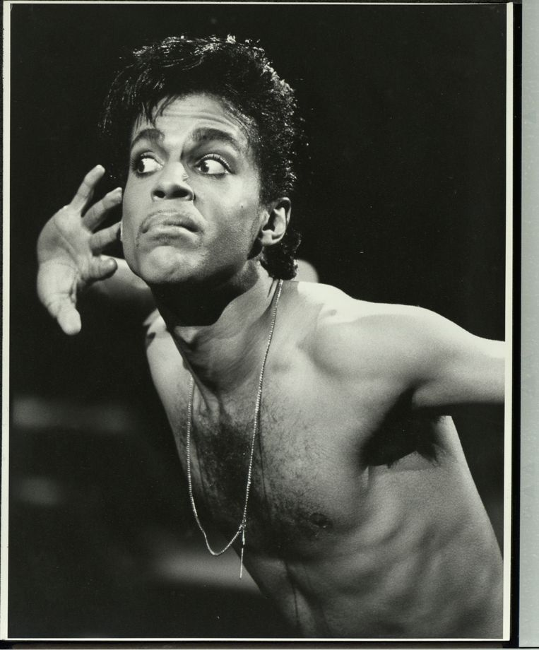 Prince in 1986. Beeld The LIFE Picture Collection