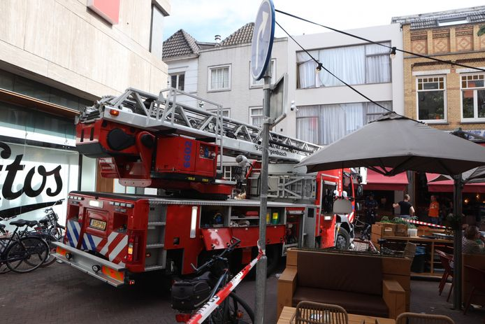 De brand was snel onder controle in Den Bosch.