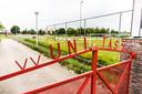 Het sportcomplex van voetbalvereniging Unitas'28.