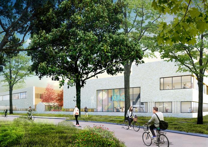 Een impressie van het nieuwe Strabrecht College in Geldrop
