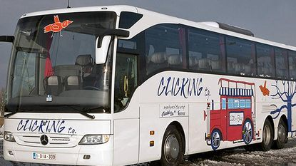 Gestolen Belgische bus in Denemarken teruggevonden