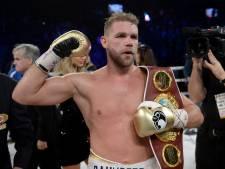 Billy Joe Saunders behoudt titel en houdt hoop op gevecht met Canelo Alvarez levend